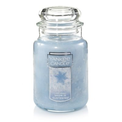 Yankee Candle® Winter Wonderland® Snow is Glistening® Large Jar Candle