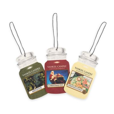 Yankee Candle® Car Jar® 3-Pack Christmas Air Fresheners