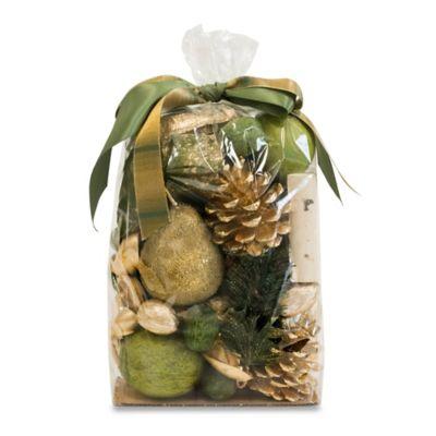 Gilded Pear Potpourri Bag