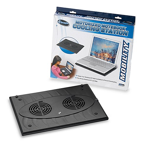 Motorized Notebook Cooling Station