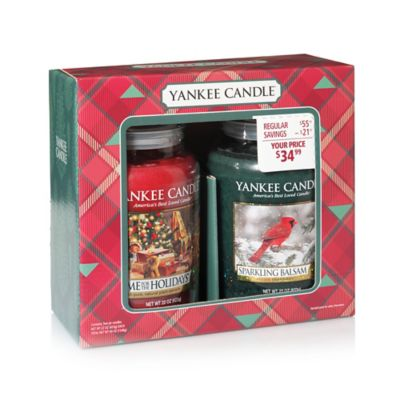 Yankee Candle® Holiday Large Jar Candle Gift Set