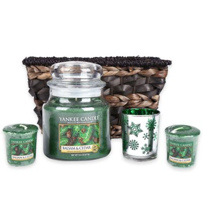 Yankee Candle® Balsam & Cedar Gift Set