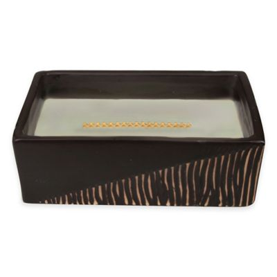 Woodwick® HearthWick Flame® Fireside Two Tone Medium Rectangle Candle