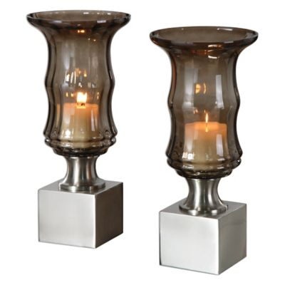 Glass Candleholder Sets