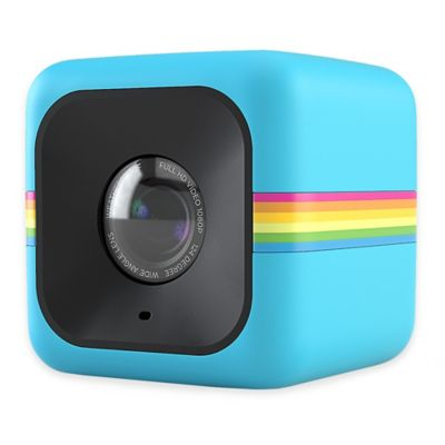 Polaroid Cube Lifestyle POLC3BL HD Action Camera in Blue