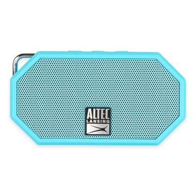 Mini H20 Waterproof Bluetooth® Wireless Speaker in Blue