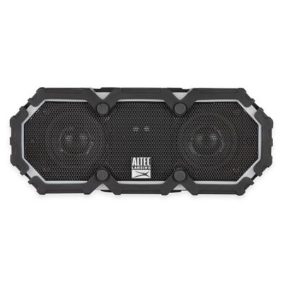 Mini Life Jacket Waterproof Bluetooth® Wireless Speaker in Grey
