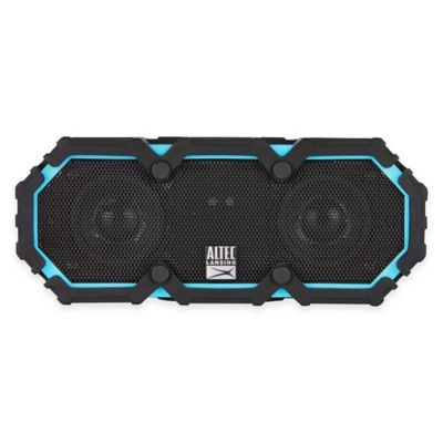 Mini Life Jacket Waterproof Bluetooth® Wireless Speaker in Blue