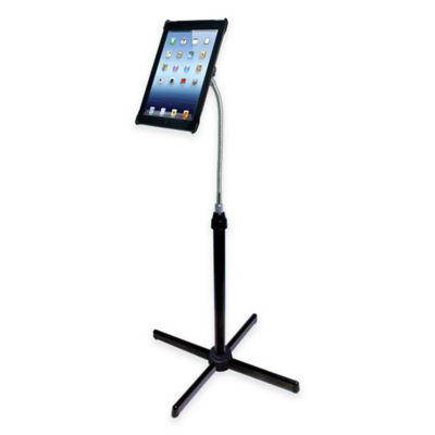 CTA Digital Universal Height-Adjustable Gooseneck Floor Stand For Tablets