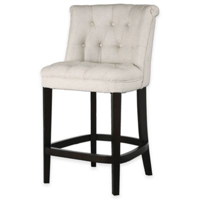 Uttermost Kavanagh 26-Inch Tufted Counter Stool