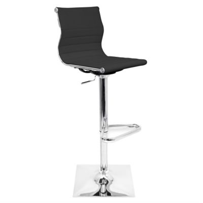 LumiSource Master Barstool in Black