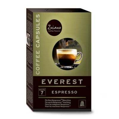 Zuiano 10-Count Everest Nespresso® Compatible Espresso Capsules