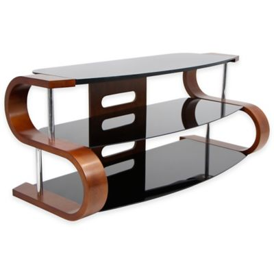 Lumisource Metro Series 120 TV Stand - Brown/Black