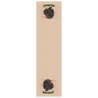 Heritage Lace® Thanksgiving Turkey 72-Inch Table Runner