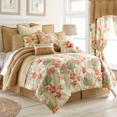 Coral Beach Full Comforter Set