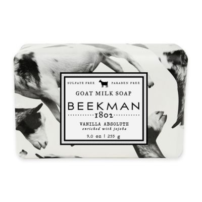 Beekman 1802 Vanilla Absolute Soap Bar in White