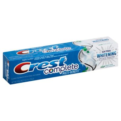 Crest® 8 oz. Complete Extra Whitening with Tartar Protection Toothpaste in Clean Mint