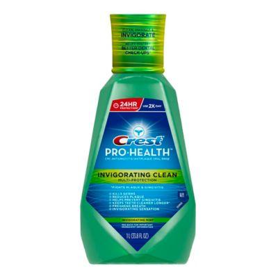 Crest® Pro-Health™ 33.8 oz. Multi-Protection Invigorating Rinse in Clean Mint
