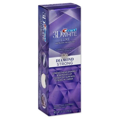 Crest® 3D White Luxe™ 4.1 oz. Diamond Strong Whitening Toothpaste in Brilliant Mint