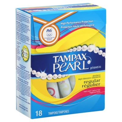 Tampax Pearl 18-Count Regular Scented Tampons