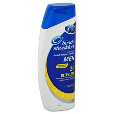 Head and Shoulders® 13.5 oz. Men's 2-in-1 Deep Clean Dandruff Shampoo + Conditioner