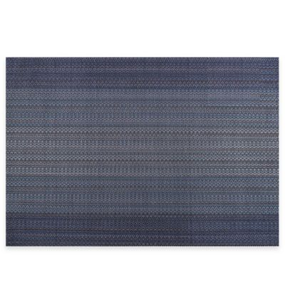 Pointelle Textilene Placemat in Blue
