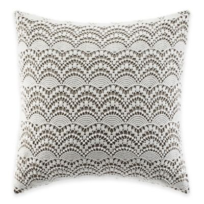 Laura Ashley™ Raeland Crochet Square Throw Pillow