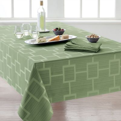 Buy 120 oblong tablecloth from bed bath beyond for Tablecloth 52 x 120