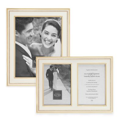 White/Gold Picture Frames