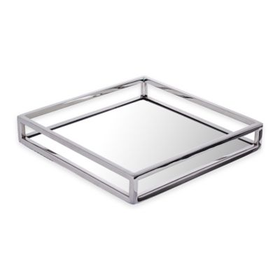 Classic touch mirrored napkin holder for Bathroom napkin holder