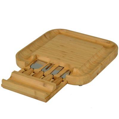 Picnic At Ascot Malvern Bamboo Cheese Board Set