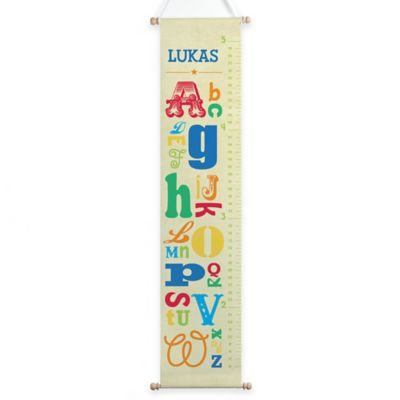 Boy Alphabet Growth Chart