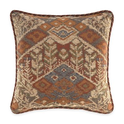 Croscill® Salida Reversible Square Throw Pillow
