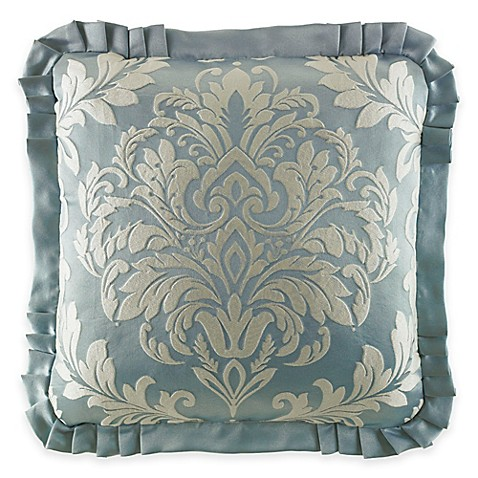 Throw Pillow In French : J. Queen New York Kingsbridge Square Throw Pillow in French Blue - Bed Bath & Beyond