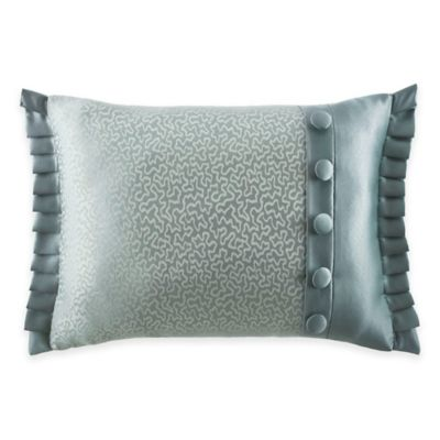 J. Queen New York™ Kingsbridge Boudoir Throw Pillow in French Blue