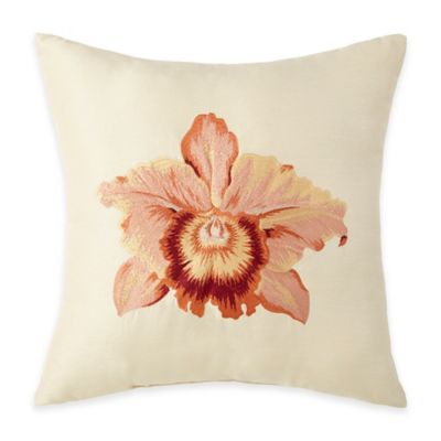 Floral Decorative Pillow Cover