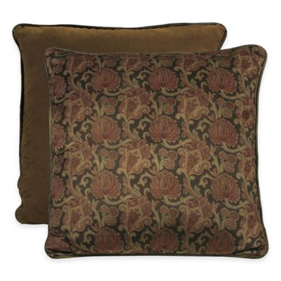 HiEnd Accents Austin Velvet European Pillow Sham