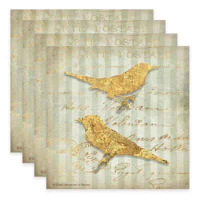 Thirstystone® Avian Estate Coasters (Set of 4)