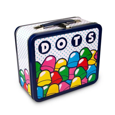 Pile of Dots Lunch Tin in Blue