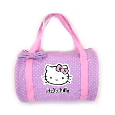 Hello Kitty® Duffle Bag in Pink and Purple
