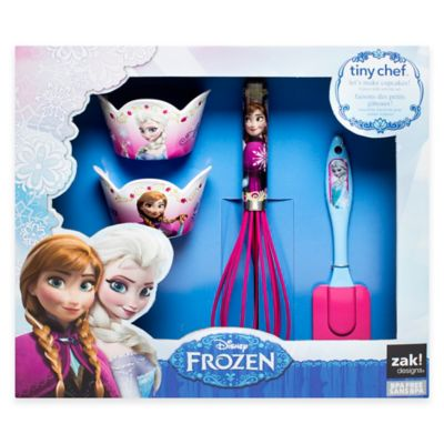 "Disney® ""Frozen"" Anna and Elsa 4-Piece Baking Set"