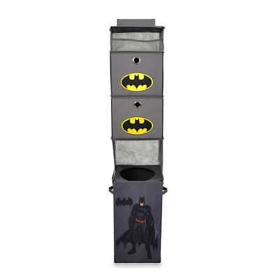 Modern Littles Batman Hanging Closet Organizer