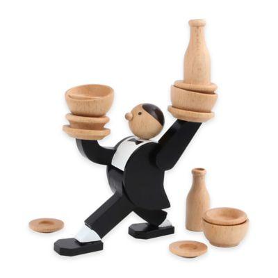 Kikkerland® Don't Tip The Waiter Game Stacking Game