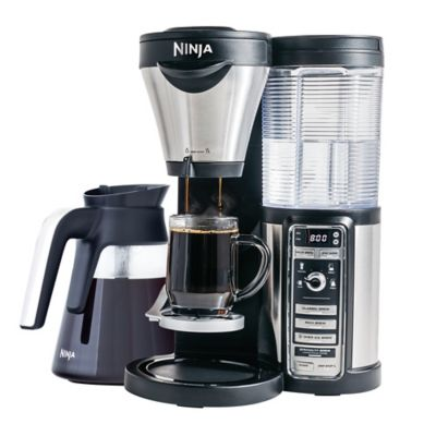 Ninja® Coffee Bar™ Brewer CF082 with 43 oz. Glass Carafe with Stainless Steel Accent