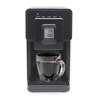 Jura® Capresso® 42 oz. Triple Brew™ Coffee and Tea Maker in Black