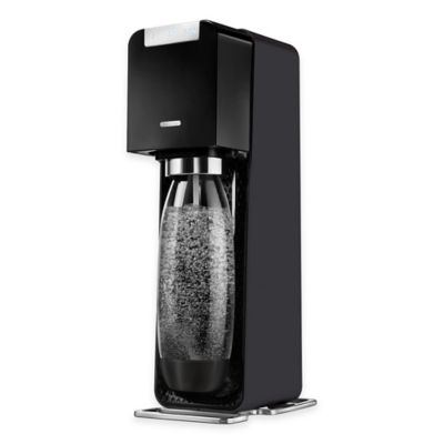 SodaStream® Power™ Sparkling Water Maker Starter Kit in Black