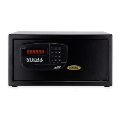 Mesa Safe Company MHRC916E Electronic Lock Hotel Safe in Black