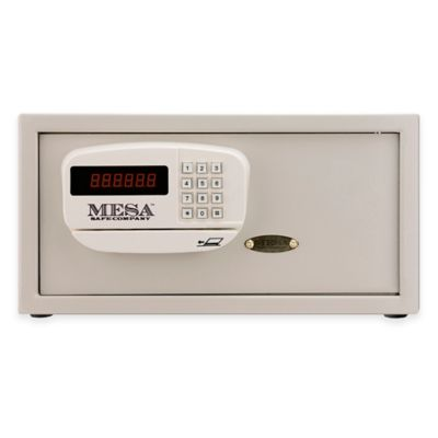 Mesa Safe Company MHRC916E Electronic Lock Hotel Safe in Cream