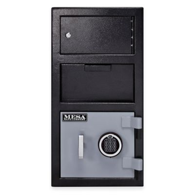 Mesa Safe Company MFL2014E-OLK Depository Safe with Outer Locker & Electronic Lock