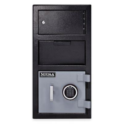 Mesa Safe Company MFL2014E-OLK Depository Safe with Outer Locker & Electronic Lock